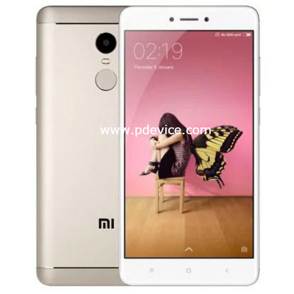 Xiaomi Redmi Note 4 Snapdragon Global Version Smartphone Full Specification