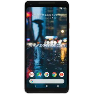 Google Pixel 2 XL Smartphone Full Specification