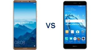 Huawei Mate 10 Pro vs Huawei Ascend XT2