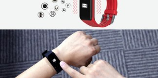 MGCOOL Band 3 smart watch