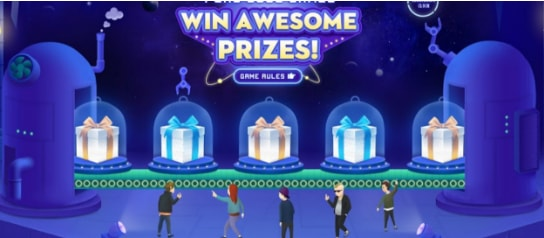 Play Game and Win Prize