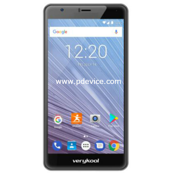 Verykool Cyprus Pro s6005X Smartphone Full Specification