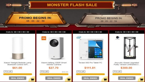 GearBest Black Friday Flash SALE Starts