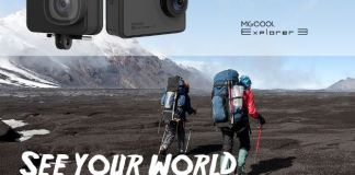 MGCOOL Explorer 3 Action Camera