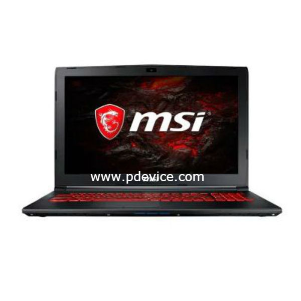 MSI GL62MVR 7REX-1214CN Gaming Laptop Full Specification