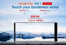 Oukitel MIX 2 SALE
