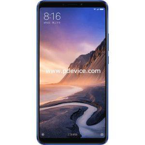 Xiaomi Mi Max 3 Smartphone Full Specification