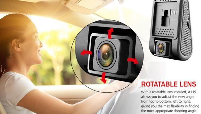Deal VIOFO A119 2.0 Inch LCD 1440P Novatek 96660 160 Degree Safe Capacitor Car Camera with GPS Function