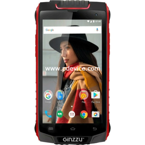 Ginzzu RS8501 Smartphone Full Specification