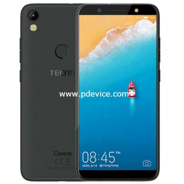Tecno Camon CM Smartphone Full Specification