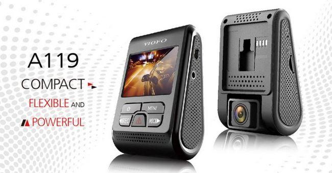 VIOFO A119 Car Camera for Audio & Video Recording