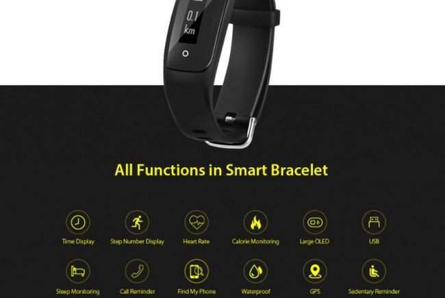 MPOW D6 Smart Fitness Tracker Heart Rate Sleep Monitor Coupon Code