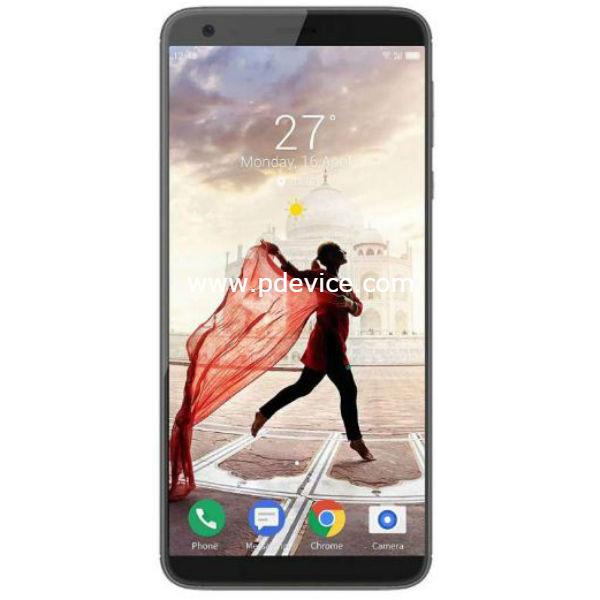 Infocus Vision 3 Pro Smartphone Full Specification