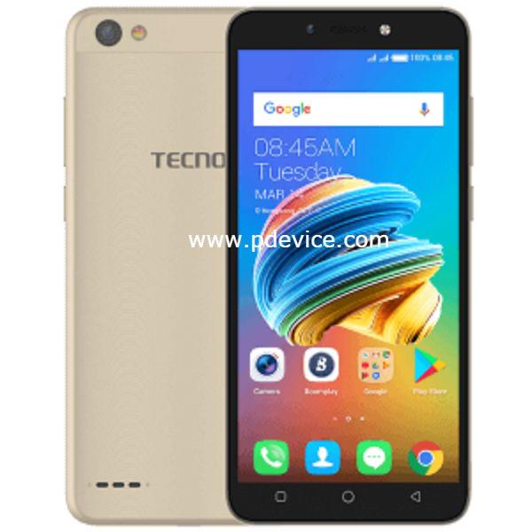 Tecno Pop 1 Smartphone Full Specification