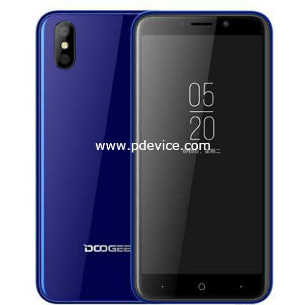 Doogee X50L Smartphone Full Specification
