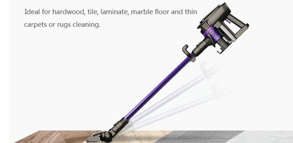 Buy Dibea F6 2-in-1 Powerful Cordless Upright Vacuum Cleaner Just $86.99, Free Shipping