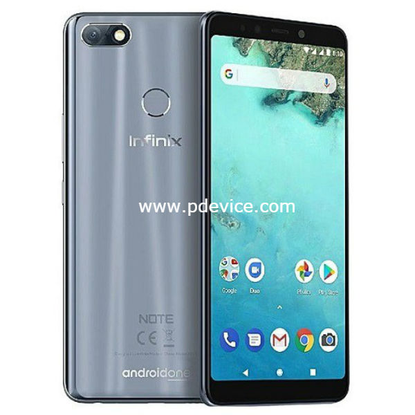 Infinix Note 5 Smartphone Full Specification