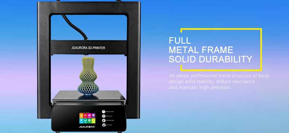 JGAURORA A5 3D Printer Flash SALE
