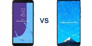 Samsung Galaxy J6 vs Honor 9 Lite