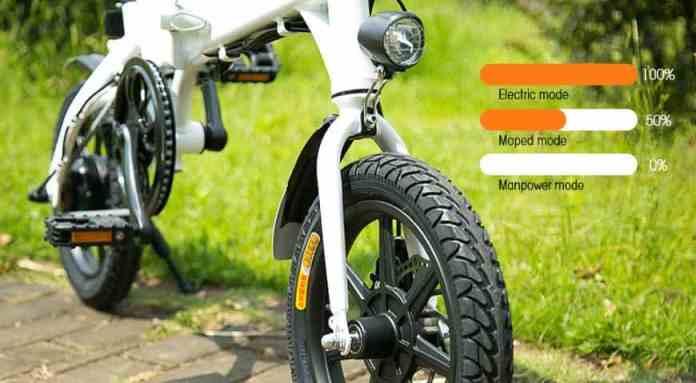 FIIDO D1 Folding Electric Bike Moped Bicycle E-bike GearBest Coupon Code