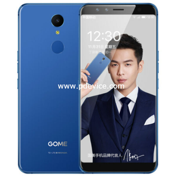 Gome U7 Smartphone Full Specification