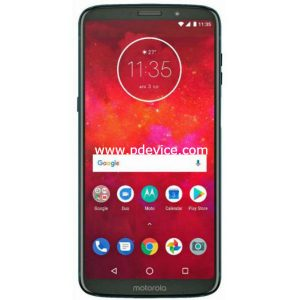 Motorola Moto Z3 Smartphone Full Specification