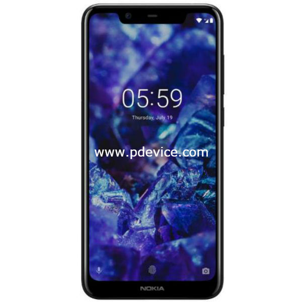 Nokia 5.1 Plus Smartphone Full Specification