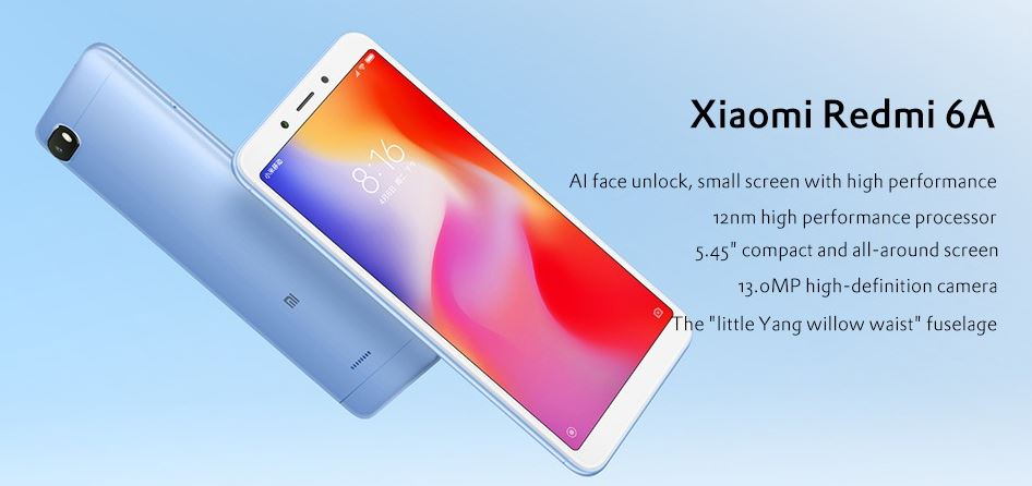 Xiaomi Redmi 6A GearBest Coupon Code Online