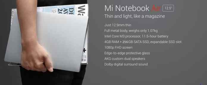 Xiaomi laptop notebook AIR 12.5 Big Offer Now