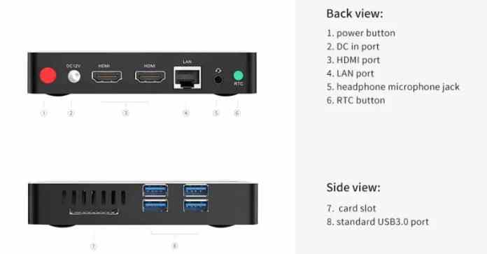 Beelink N41 N4100 Mini PC GearBest $20 Promo Code + Global Delivery