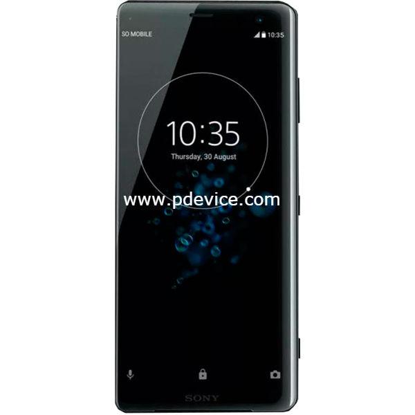 Sony Xperia XZ3 Smartphone Full Specification