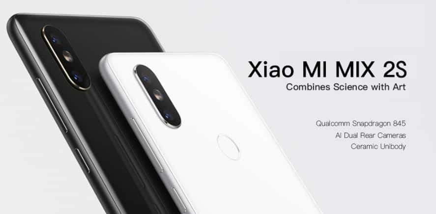 Xiaomi MI MIX 2S GearBest Coupon Code with Free Shipping