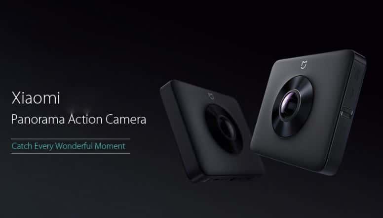 Xiaomi Mi Sphere Camera 4K Panorama Action Camera GearBest Coupon Code