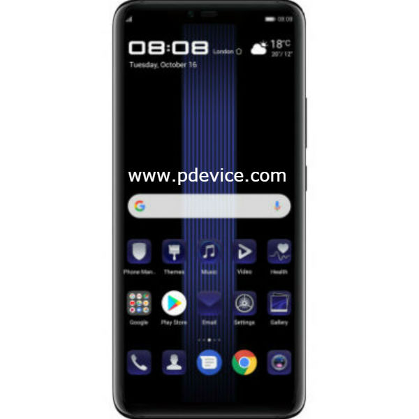 huawei mate 20 rs porsche design specifications price. Black Bedroom Furniture Sets. Home Design Ideas