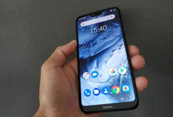 Nokia 6.1 Plus (Nokia X6) Display and Front Look