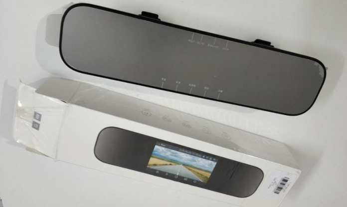 Xiaomi Mijia 5 inch Smart Rearview Mirror Car DVR Complete Details