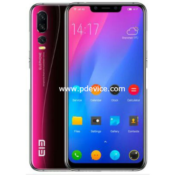 Elephone A5 Smartphone Full Specification