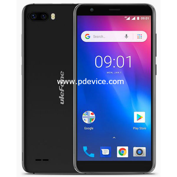 Ulefone S1 Pro Smartphone Full Specification