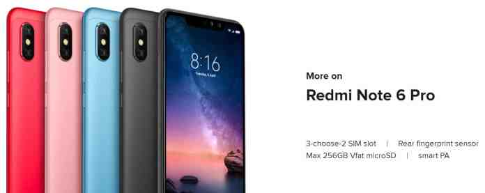 Xiaomi Redmi Note 6 Pro Just for $169 with $10 Promo Code