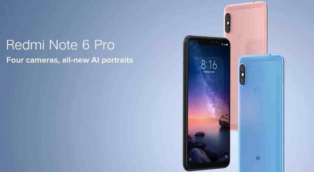 Xiaomi Redmi Note 6 Pro for $169 with Global Shipping, Flat $10 Coupon Code from CooliCool