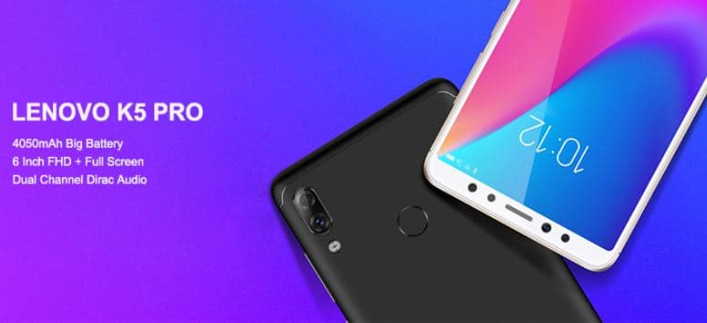 Lenovo K5 Pro with $10 Promo Code From CooliCool for Global Users