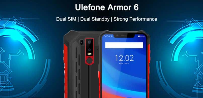 Ulefone Armor 6 with $25 GearBest Promo Code Online
