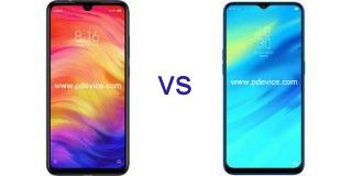 Xiaomi Redmi Note 7 vs Realme U1