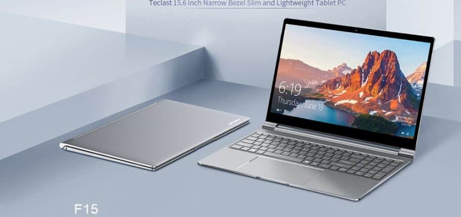 Teclast F15 Notebook with $10 GearBest Coupon