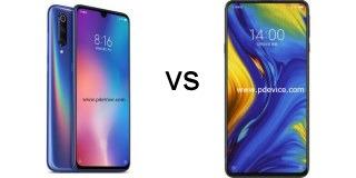 Xiaomi Mi 9 vs Xiaomi Mi Mix 3