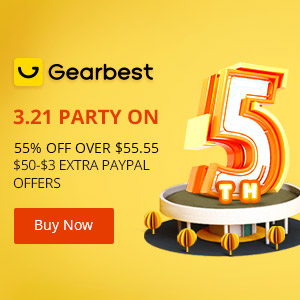 GearBest 5th Anniversary Big Sale Live - Huge Discount