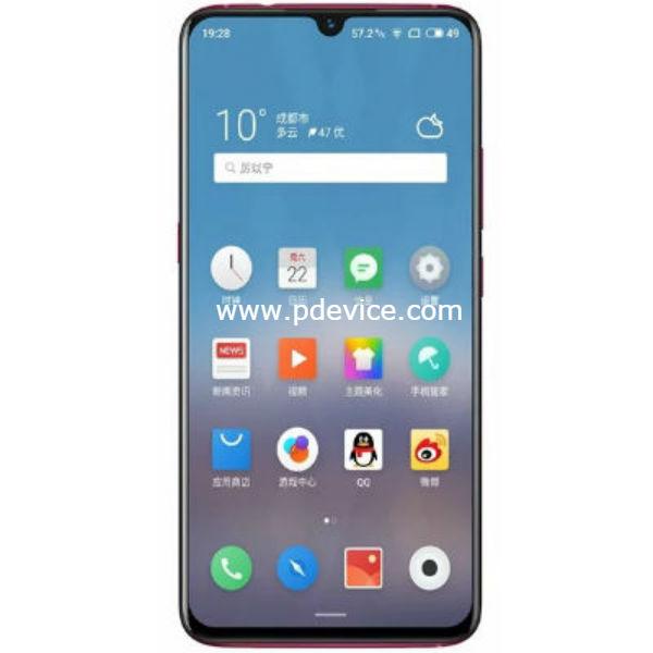 Meizu Note 9 Lite Smartphone Full Specification