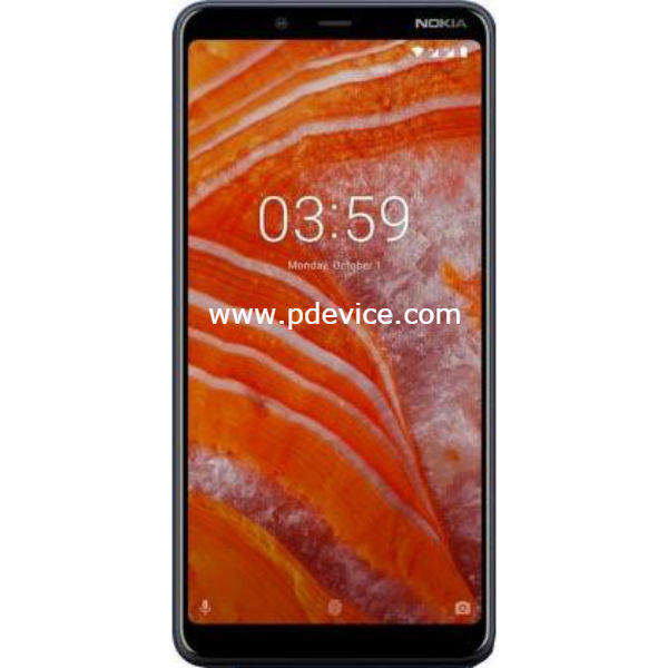 Nokia 3.1 Plus Smartphone Full Specification