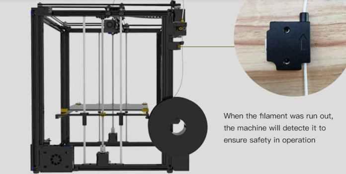 Tronxy X5SA High Accuracy Big Power DIY 3D Printer $20 Gearbest Coupon with EU, US Plug
