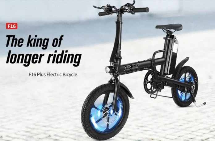 CMSBIKE F16-PLUS Electric Bike Coupon